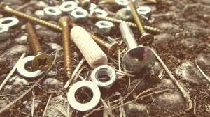 kołki, śrubki