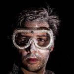 ochrona oczu okulary BHP ochronne